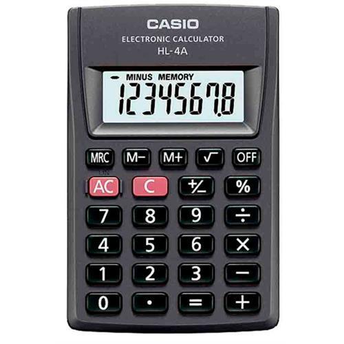 Calculadora Casio Bolso -hl4a