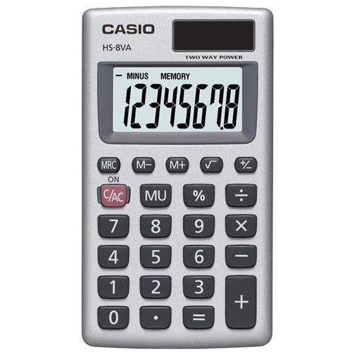 Calculadora Casio Bolso -hs8va