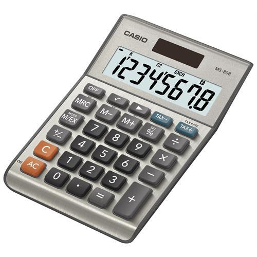 Calculadora Casio Secretaria -ms80b