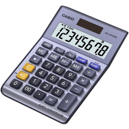 Calculadora Casio Secretar-ms80verii