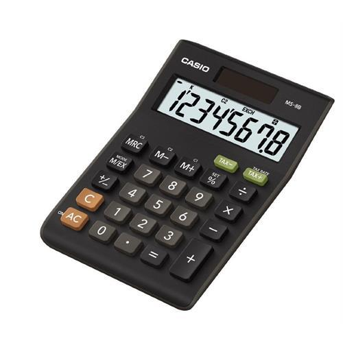 Calculadora Casio Secretaria -ms8b