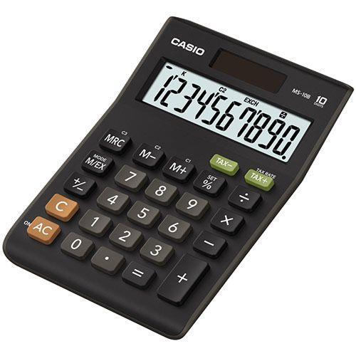 Calculadora Casio Secretaria -ms10b