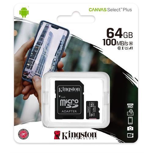 Cartão Microsdhc Kingsto. -sdcs2 / 64gb