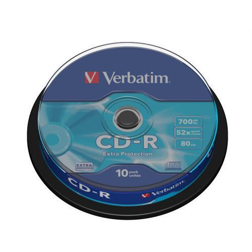 Cd-r Verbati. Datalife 52x700mb -cake10