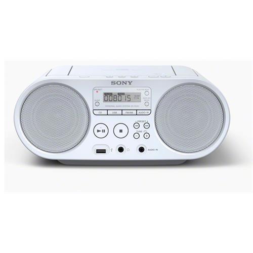 Radio Sony CD 2w+2w. Usb-br. -zsps50w