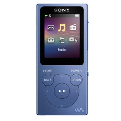 Mp4 Sony 4gb. Lcd1,77 -azul-nwe393l