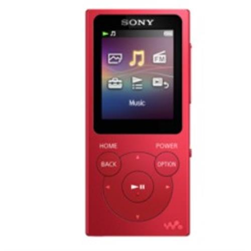 Mp4 Sony 4gb. Lcd1,77 -verm-nwe393r
