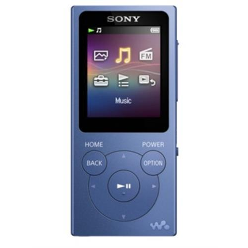 Mp4 Sony 8gb. Lcd1,77 -azul-nwe394l