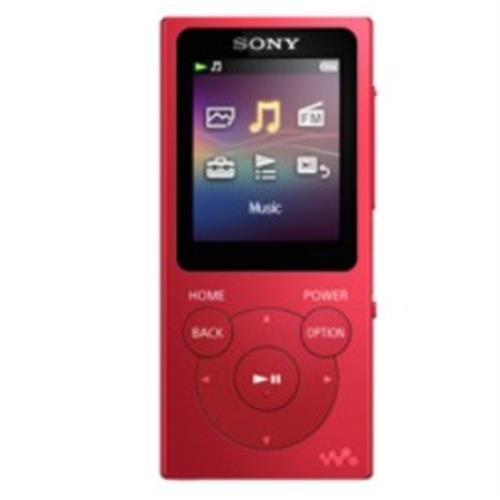 Mp4 Sony 8gb. Lcd1,77 -verm-nwe394r