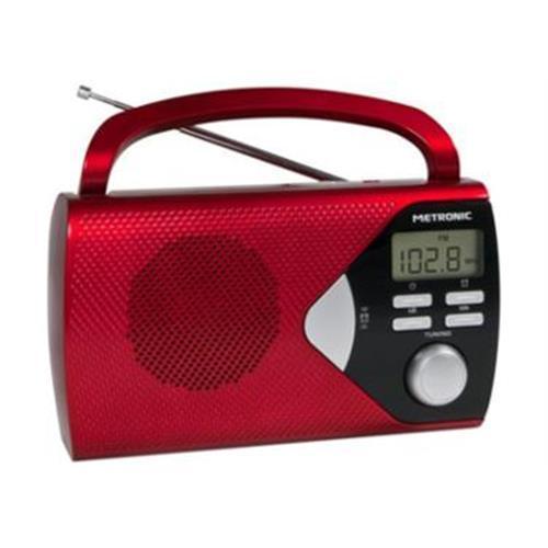 Radio Metroni. Port. Am / Fm-vermel-477201