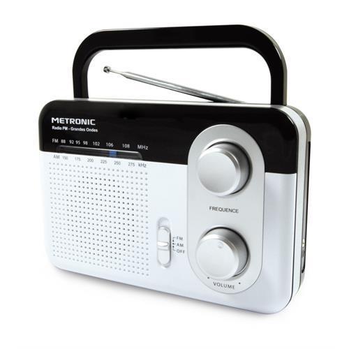 Radio Metroni. Port. Am / Fm-branco-477220