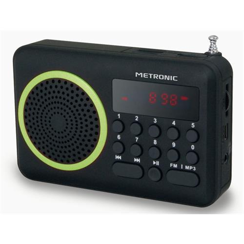 Radio Metroni. Port. Digital-verd-477202