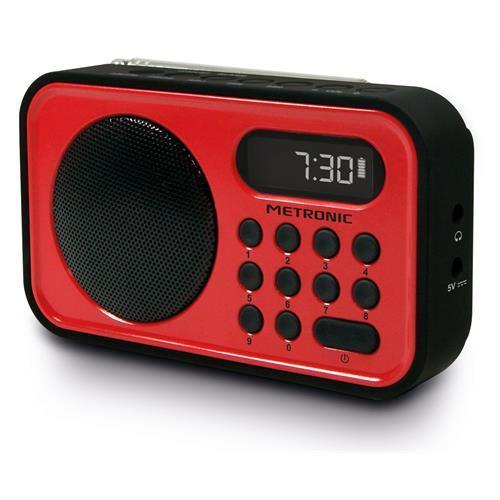 Radio Metroni. Port. Fm-dig. 50mem-477221
