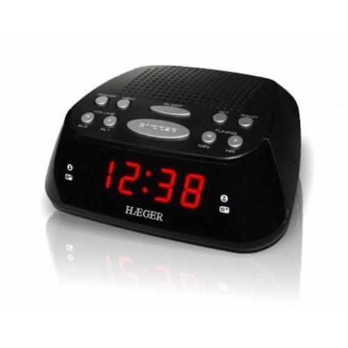Radio Haeger Relog. 2al. 20mem. -snoozer