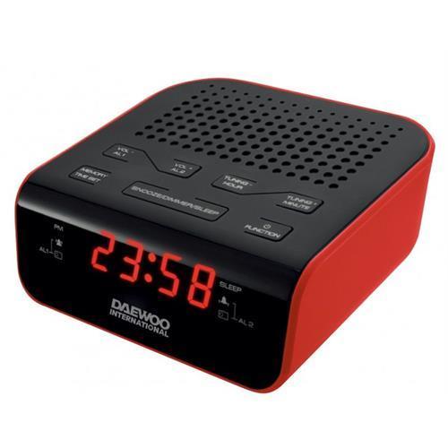 Radio Daewoo Relog. Dig. 2al. 20m-dcr46r