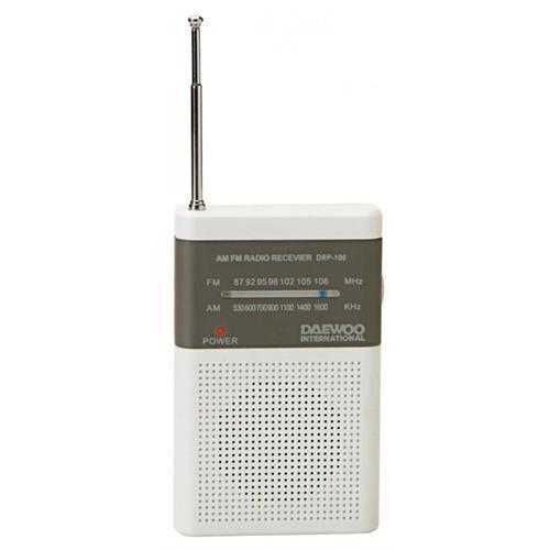 Radio Daewoo Port. Am / Fm-br / Cz-drp100w