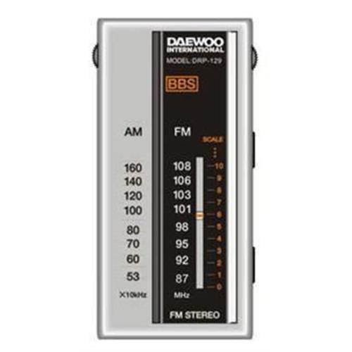 Radio Daewoo Port. Am / Fm-clip -drp129