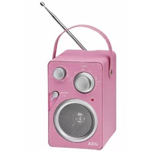 Radio Aeg Port. Fm / Am-pil. -mr4144rs