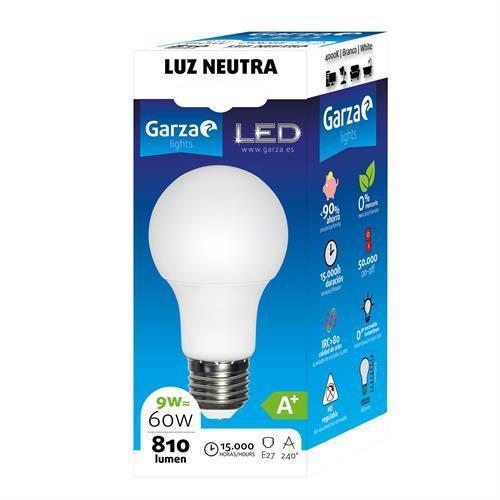 Lampada Garza LED Std-9w-e27 -461459