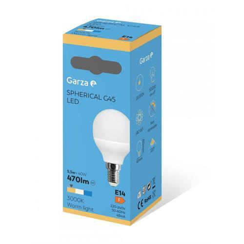 Lampada Garza LED Esf-6w-e14 -461463