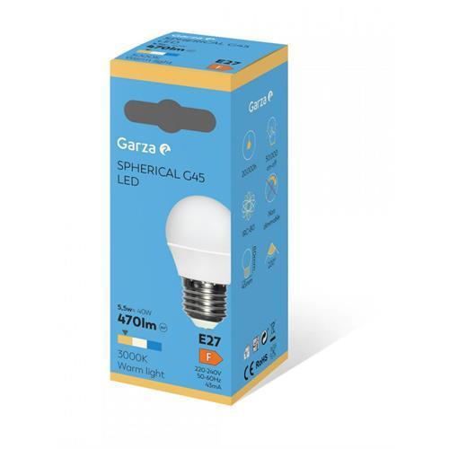 Lampada Garza LED Esf-6w-e27 -461465