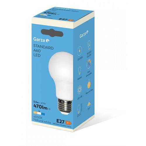 Lampada Garza LED Std-6w-e27 -461456