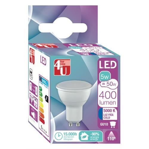 Lampada 4u LED Ref-5w-gu10-400470